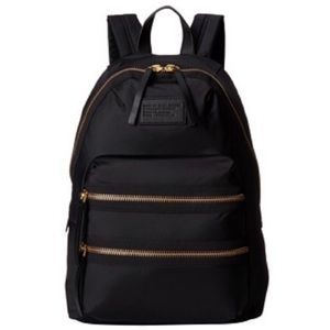 MARC JACOBS Domo Arigato Packrat Black Backpack
